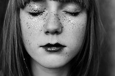 Glitter freckles