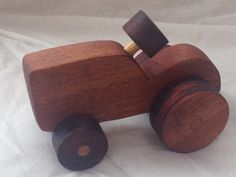 Handcrafted Wooden Toy Cars- Tractor