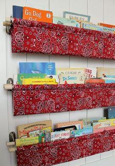 Dekoratif Çocuk Odası Kitaplığı Yapımı