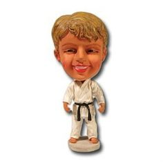 Karate Bobblehead now available from www.karatemart.com/