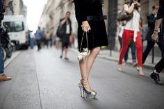 Street style: Paris A/W 12-13 haute couture   Harper's BAZAAR