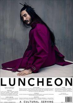 Tony Thornburg in Luncheon Magazine #5 Spring/Summer 2018 by Solve Sundsbo