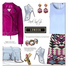"""Pack and Go: London"" by huda-alalawi ❤ liked on Polyvore featuring Lanvin, MINKPINK, Glamorous, Steve Madden, Rebecca Minkoff, Spicher and Company, Miu Miu, Avon, women's clothing and women"