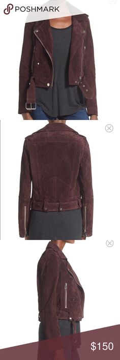 Blank NYC Suede Jacket Never worn! Price is firm as this is still for sale on Nordstrom for full price. NOT REFORMATION Reformation Jackets & Coats