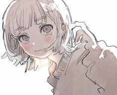 Anime Art Girl, Manga Art, Anime Girls, Anime School Girl, Kawaii Icons, Pretty Art, Cute Art, Aesthetic Art, Aesthetic Anime