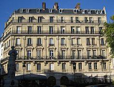 Transformations de Paris sous le Second Empire Building Facade, Old Building, Baron Haussmann, Saint Georges, Grand Paris, Second Empire, Architectural Antiques, Architecture, Louvre