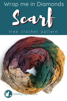 There was no easy way to find crochet patterns to Mandala Yarn, so I searched all over the web. This is a roundup of 13 Crochet Patterns using Mandala Yarn. Crochet Lacy Scarf, Crochet Shawls And Wraps, Crochet Scarves, Crochet Hooks, Free Crochet, Mandala Crochet, Crochet Ripple, Crochet Blouse, Lion Brand Mandala Yarn