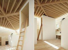 Raumverteilung kleine Zimmer Architektenhaus