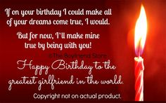 I'd Make Your Wishes Come True Birthday Card  Girlfriend Gift Ideas  The Boyfriend Store  www.the-boyfriend-store.com Husband Birthday, It's Your Birthday, Birthday Ideas, Christmas Gifts For Girlfriend, Girlfriend Gift, Wish Come True, Lovey Dovey, Birthday Candles, Girlfriends