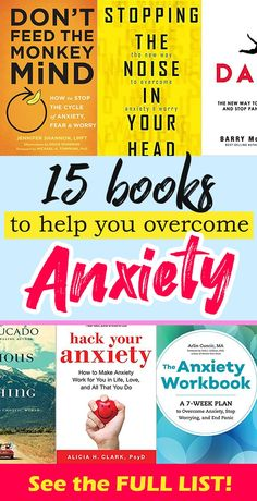 Here's my list of best books about anxiety. Includes life-stories and proven techniques that'll help you cope better with anxiety, stress, and panic.