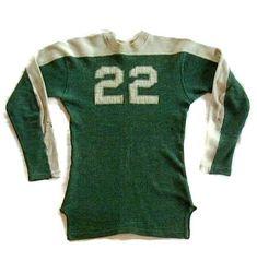 e7544f07f84 Vintage Football Equipment - Antique Football Equipment Football Uniforms,  Sports Uniforms, Football Jerseys,