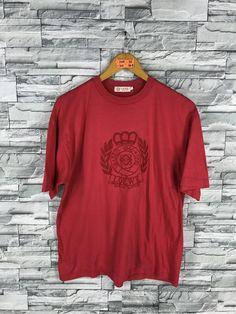 b9301f63a Vintage LOEWE Tshirt Small 1990s Loewe Madrid Embroidered Loewe Italy  Designer Fashion Streetwear Re Used Clothing