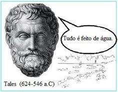 Tales de Mileto Convencionalmente se considera a Tales de Mileto el primer filósofo de la historia. Tales era astrónomo y matemático de la colonia de Mileto. Tanto él como sus discípulos comenzaron a preguntarse por el valor de las explicaciones míticas; buscaban explicaciones lógicas  y lo hacían en la propia naturaleza. Intentaba  encontrar una ley que  explicara la realidad de una forma racional y no arbitrariamente. El primer principio era el agua.