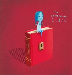 Due bambini si avventurano dentro il mondo dei libri attraversando oceani di parole, foreste di