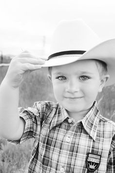 a little cowboy. . . This was Brady until he was in 3rd grade. Miss my little cowboy!!!
