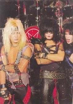 Vince Neil, Nikki Sixx & Mick Mars