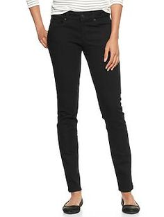 1969 always skinny black jeans - Introducing the new black denim: In a full range of shades and washes. Its cool. Without even trying.