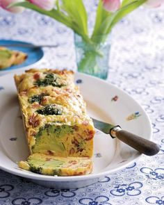 Recipe for Vegetable Cake with Ham Yummy Vegetable Recipes, Vegetable Cake, Broccoli Soup Recipes, Vegetarian Recipes, Cooking Recipes, Healthy Recipes, Quick Recipes, Salty Foods, Tasty