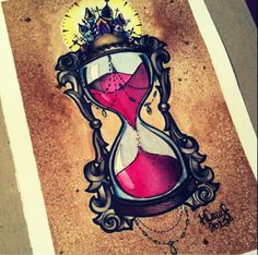 Hourglass tattoo idea