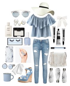 """""""Sans titre #40"""" by forever-219 ❤ liked on Polyvore featuring Chicnova Fashion, Rebecca Minkoff, Aesop, NARS Cosmetics, Chanel, Current/Elliott, Michael Kors, Pilot, Christian Dior and Allurez"""