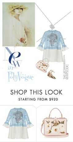 """""""***PRETTY SPRING***"""" by natalio ❤ liked on Polyvore featuring Rahul Mishra, Dolce&Gabbana and Valentino"""