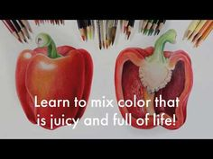 Distance Learning - The Art of Mindy Lighthipe Online Art Classes, Art Tutorials, All The Colors, Colored Pencils, Color Mixing, Make It Yourself, Learning, Fungi, Distance