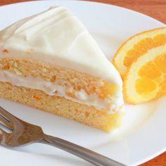 Orange Buttermilk Cake with Orange Cream Cheese Frosting Recipe Cake With Cream Cheese, Cream Cheese Frosting, Orange Frosting, Baking Recipes, Cake Recipes, Dessert Recipes, Cake Cookies, Cupcake Cakes, Sunshine Cake
