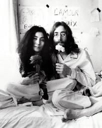 John Lennon & Yoko Ono * Free Shipping *
