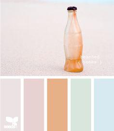 beached tones--kitchen or bedroom palette Scheme Color, Colour Schemes, Color Combos, Beach House Colors, Beach Color, Design Seeds, House Color Palettes, Colour Board, World Of Color