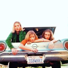This is how I remember them.... well, how they look.  Not the fact they're in the trunk of car.
