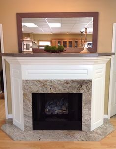 Bordeaux Dream Granite Fireplace Surround And Hearth Grey