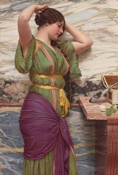 A Fair Reflection Godward 1915