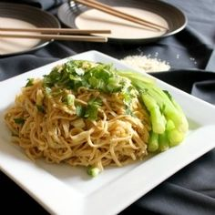 Peanut and sesame noodles by amuseyourbouche