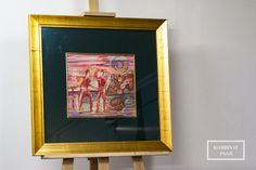 #rysunek #kredka #bednarz #zlotarama #passepartout #slip #oprawa #oprawaobrazow #ramiarnia #ramiarniakrakow  #kombinatpasji #frame #framing #art #drawing #crayon #goldframe Drawing, Frame, Home Decor, Picture Frame, Decoration Home, Room Decor, Sketches, Drawings, Frames
