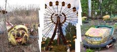 Abandoned Pripyat Amusement Park. @YoungDumbAndFun