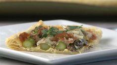 Asparagus, Prosciutto and Fontina Tart   Allrecipes.com