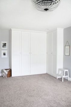 Trendy Home Office Closet Storage Ikea Hacks Ikea Wardrobe Storage, Ikea Pax Wardrobe, Diy Wardrobe, Ikea Storage, Bedroom Wardrobe, Built In Wardrobe, Modular Storage, Storage Hacks, Wall Storage