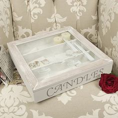 Candles Storage Box