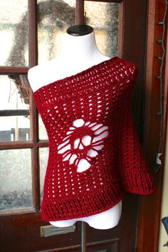 Hey, I found this really awesome Etsy listing at https://www.etsy.com/listing/185058794/warm-your-shoulders-with-a-burgundy
