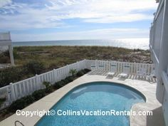 The Beach House ~ East End ~ Beach Front | Collins Vacation Rentals