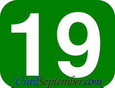 If you are willing to learn how many days until September then you can learn it through the countdown we have located above. How Many Years, Read More, Wednesday, September, Germany, Track, Letters, Let It Be, History