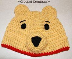 Crochet Winnie the Pooh Child hat