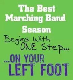 Marching Band Quotes - - Page 1 - Wattpad (Foot Step Quotes) Band Nerd, Band Mom, Love Band, Band Puns, Marching Band Quotes, Marching Band Shirts, Marching Band Problems, Flute Problems, Marching Band Funny