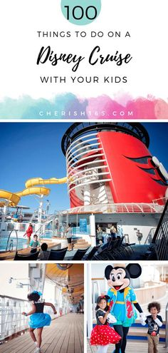 The most epic list of 100 things to do on a Disney Cruise! Print this list of fun activities, tips & hacks, and let your family have a blast checking them all off. From watching the fireworks show to getting character autographs, your toddlers and older children will love all the activities. It will be the family travel vacation of a lifetime! #disneytips #disneycruise #disneyhacks #disneycruisetips #familytravel