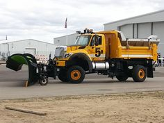 A International WorkStar, with four-wheel steering Dump Trucks, Lifted Trucks, Cool Trucks, Big Trucks, Snow Removal Equipment, Landscaping Equipment, Hydraulic Ram, Equipment Trailers, Snow Plow