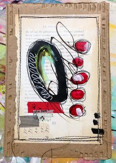 """Every Life Has a Story!"" - {Roben-Marie Smith} - Abstract Mini Paintings..."