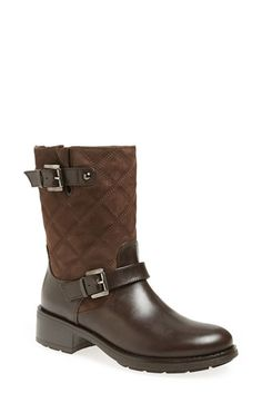 Aquatalia by Marvin K. 'Sherry' Weatherproof Moto Boot (Women) available at #Nordstrom