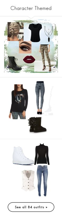 """""""Character Themed"""" by simonemarie53 ❤ liked on Polyvore featuring True Religion, Alexander Wang, modern, ZooShoo, UGG Australia, Anna Field, Alice + Olivia, Converse, French Connection and Vero Moda"""