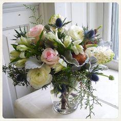Winter arrangement Roberts Flowers of Hanover, Hanover, NH