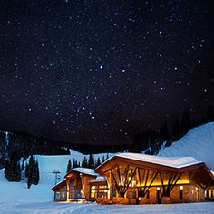 Best holiday restaurants www.ACoupleofKidds.com Game Creek Restaurant, Vail, CO | Via Travel + Leisure